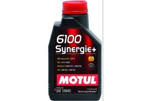 Motul 6100 Synergie+ 10w40 1 литър