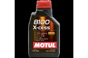 Motul- 8100 X-CESS 5W40-1литър