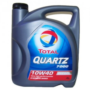 TOTAL QUARTZ 7000 10W40 4 L